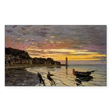 Monet - Hauling a Boat Ashore Decal