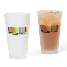 Wynnum Sticker Drinking Glass