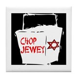 Chop Jewey Tile Coaster