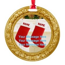 Personalize Christmas Ornament