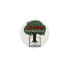 It's All About Family Mini Button (10 pack)