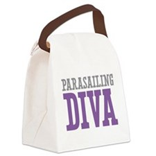 Parasailing DIVA Canvas Lunch Bag