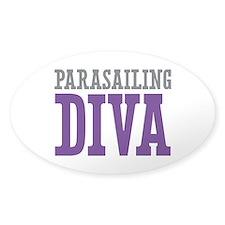 Parasailing DIVA Decal