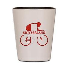 Swiss Cycling Shot Glass