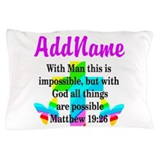 MATTHEW 19:26 Pillow Case