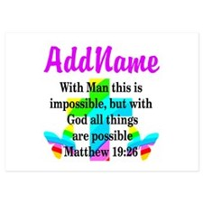 MATTHEW 19:26 Invitations