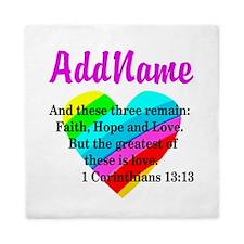 1 CORINTHIANS 13:13 Queen Duvet