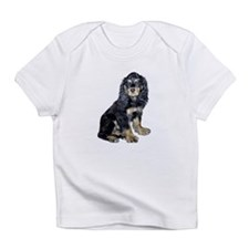 Cocker-black-tan Infant T-Shirt