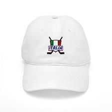 Italian Italia Hockey Baseball Baseball Cap