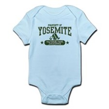 Yosemite Nat Park Tent Infant Bodysuit