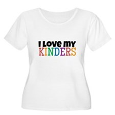 Love My Kinders Plus Size T-Shirt