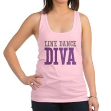Line Dance DIVA Racerback Tank Top