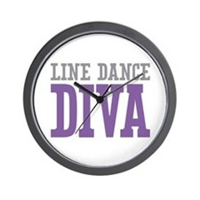 Line Dance DIVA Wall Clock