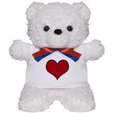 Cute Coeur Teddy Bear
