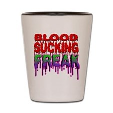 Blood Sucking Freak Shot Glass