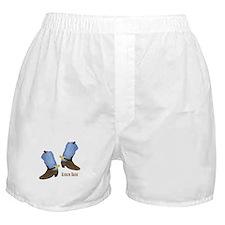 Cowboy Boot Boxer Shorts