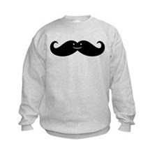 Kissing Whales Or Mustache? Sweatshirt