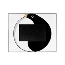 Yin yang penguin Picture Frame