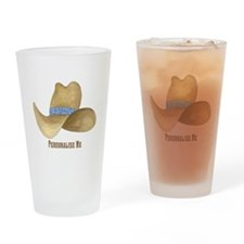Cowboy Hat Drinking Glass