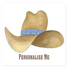 Cowboy Hat Invitations