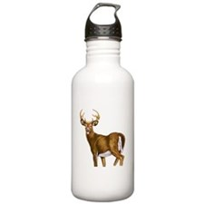 White Tail Deer Buck Water Bottle