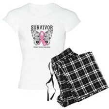 Survivor Butterfly Breast Cancer Pajamas