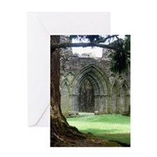 Inchmahome Priory Greeting Card