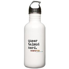queer talmud nerd Water Bottle