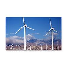 Wind Farm Rectangle Car Magnet