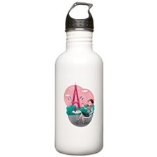 Je T'aime Paris Water Bottle