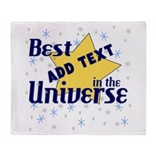 Best in the Universe Throw Blanket