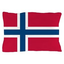 Norwegian Flag Pillow Case