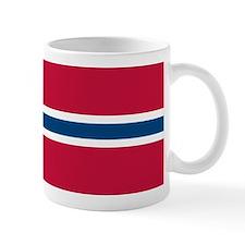 Norwegian Flag Mugs