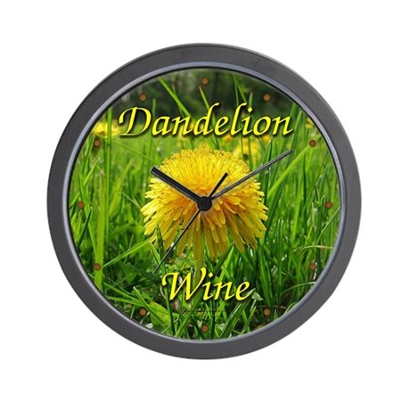 Dandelion Wine Wall Clock 2