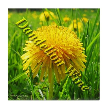 Dandelion Wine Tile Coaster 2