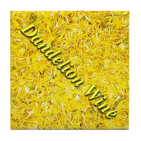 Dandelion Wine Tile Coaster 4