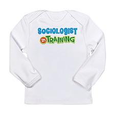 Sociologist in Training Long Sleeve Infant T-Shirt