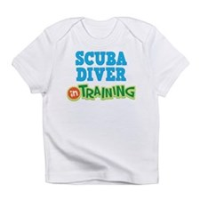 Scuba Diver in Training Infant T-Shirt