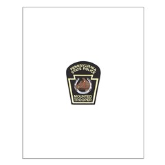 PA Mounted State Police Small Poster