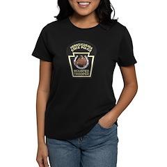 PA Mounted State Police Women's Dark T-Shirt