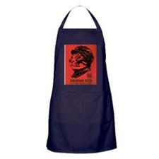meow_large Apron (dark)