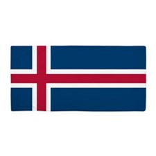 Icelandic Flag Beach Towel