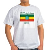 Ethiopian roots Ash Grey T-Shirt