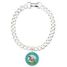 Photo Frame with Year Teal Bracelet