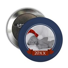 "Photo Frame with Ye... 2.25"" Button"