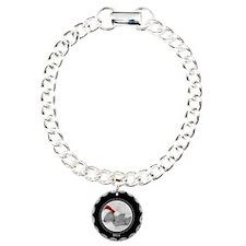Photo Frame Year Black Bracelet