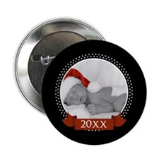 """Photo Frame with Ye... 2.25"""" Button"""