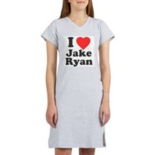I Love Jake Ryan Women's Nightshirt
