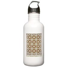 Rose of Sharon Quilt Water Bottle