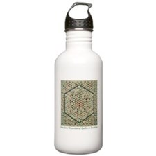 Grandmother's Garden Quilt Water Bottle